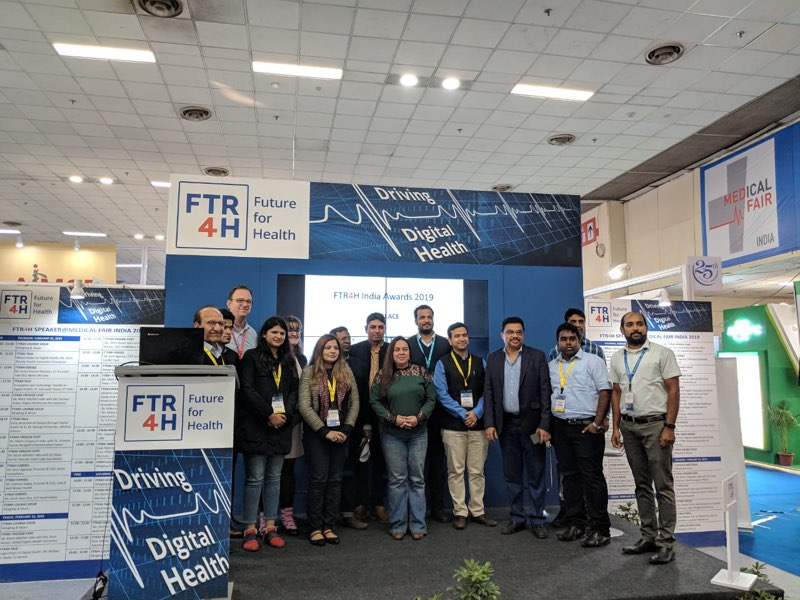 Inaugural FTR4H India Award decorates top digital health solutions