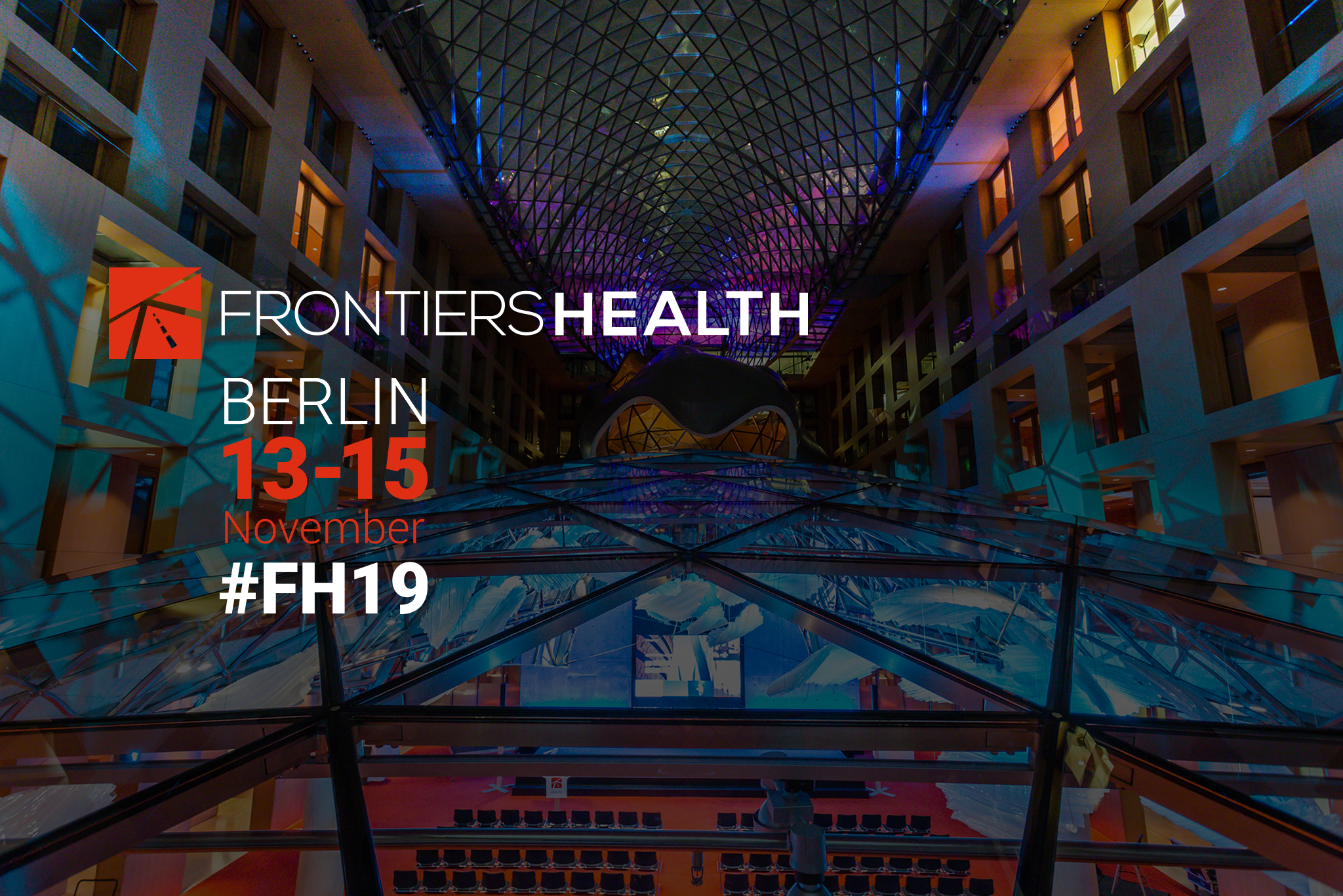 Join us at Frontiers Health in Berlin!